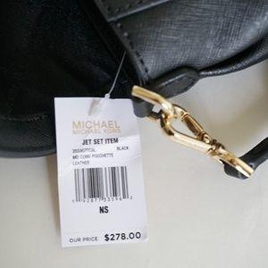 7b2726b9cd90ad Michael Kors Bags - Michael Kors Jet Set M Pochette Xbody Bag Black